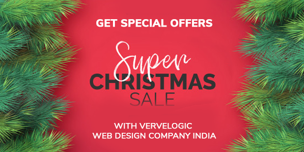 Get Special offers on this Christmas Hurrah!! Hurrah!! – Find Your Business Marketing Done with Vervelogic Web Design Company India