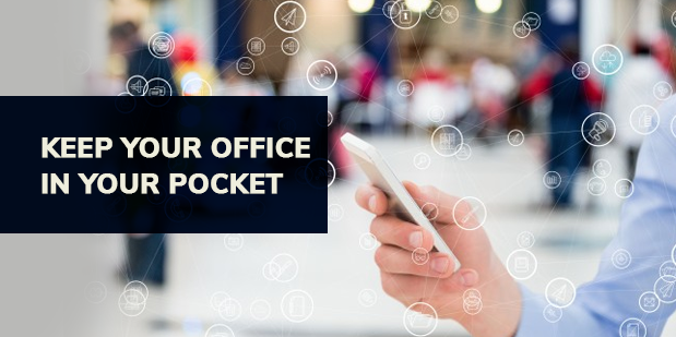 """""""Keep your office in your pocket"""""""