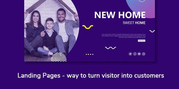 Landing Pages- way to turn visitor into customers