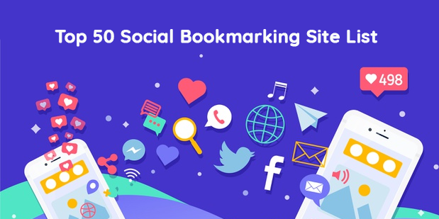 Top 50 Social Bookmarking Site List