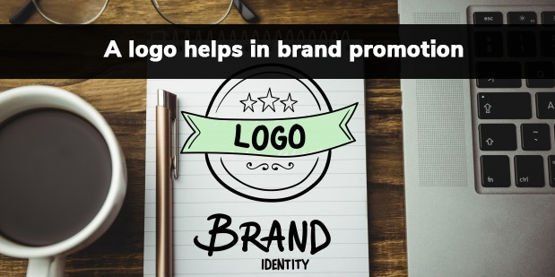 A logo helps in brand promotion