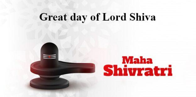 Mahashivratri- Great day of Lord Shiva