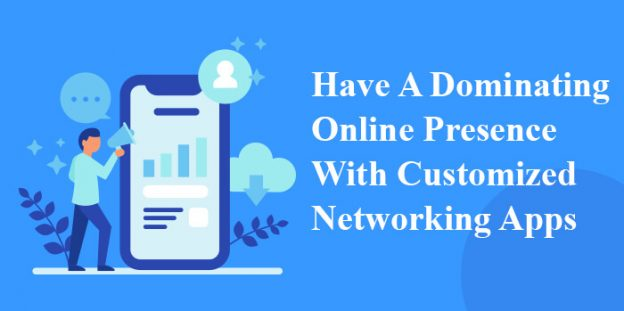 Have a dominating online presence with customized networking apps