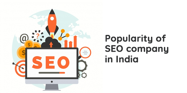 Popularity of SEO company in India
