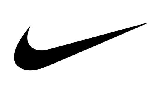 Simple logo of Nike brand