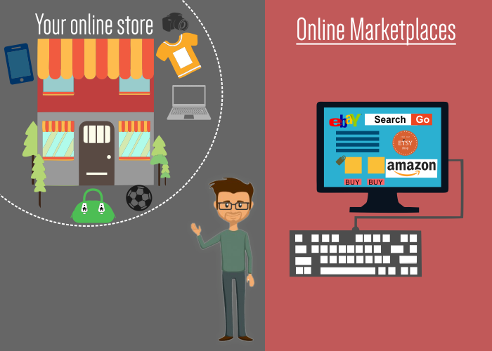 Why to go for own online store instead of other marketplaces