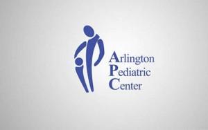 Alrlington Pediatric Center logo appropriate