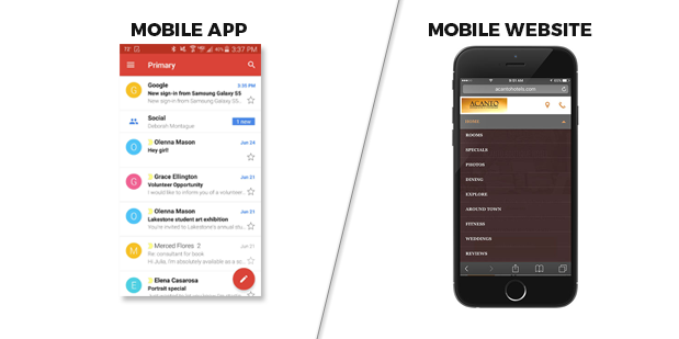 Mobile App or Mobile site – Which one is better for Investment?