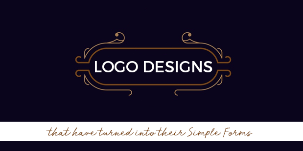 Logo Designs that have turned into their Simple Forms