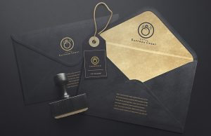 logo design hotel saffron vervelogic