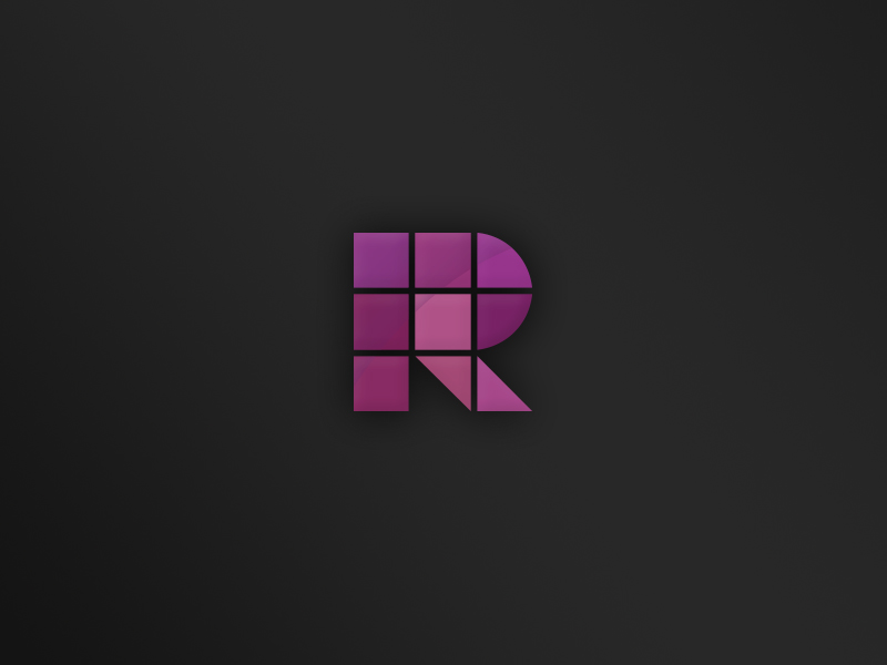 Grid based logo