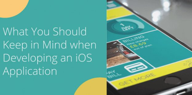 What You Should Keep in Mind when Developing an iOS Application