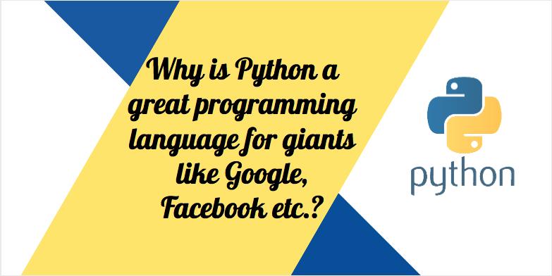 Python a great programming language