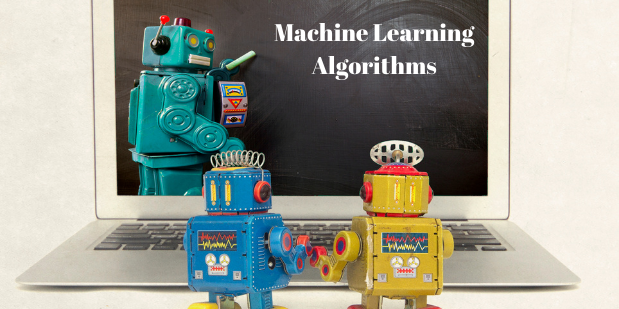 Four prime types of Machine Learning Algorithms