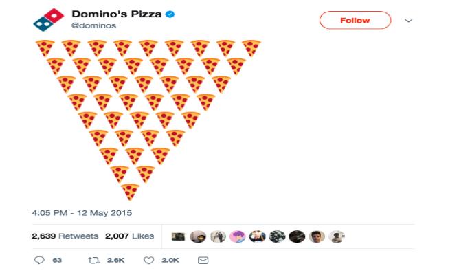 domino's pizza emoji
