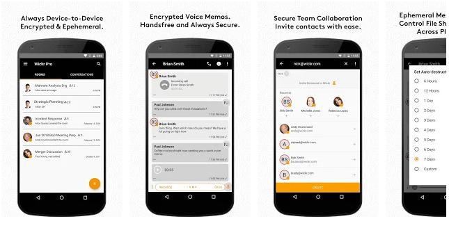 secret messaging apps