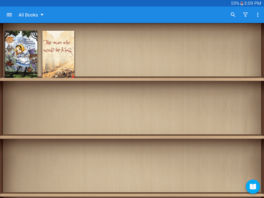 reading books apps