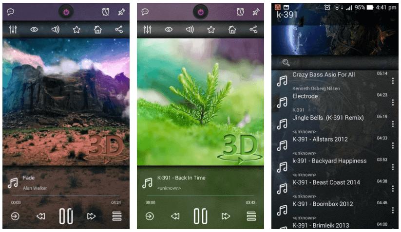 Music Player 3D Pro