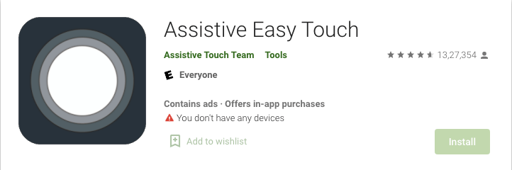 Assistive Easy Touch