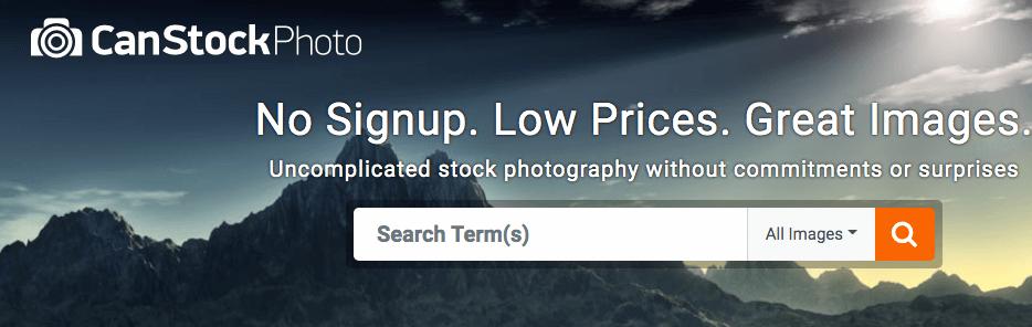Can Stock Photos