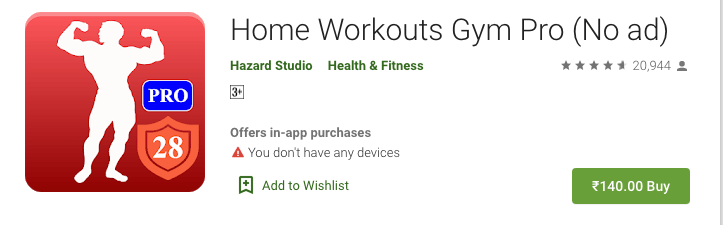 Home Workout Gym Pro