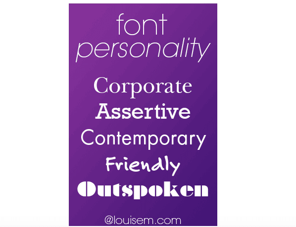 Show Personality