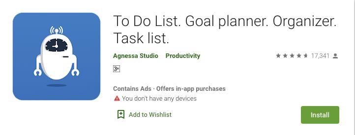 To-Do List Goal Planner