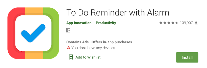 To-Do Reminder with Alarm