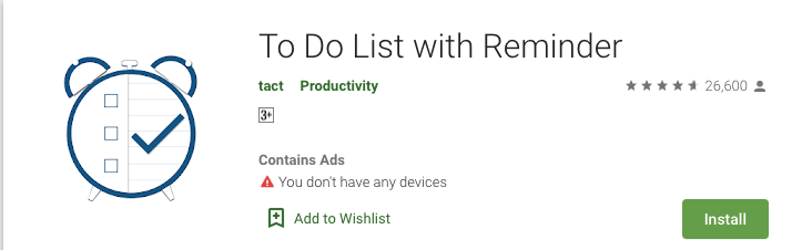 To-Do List with Reminder
