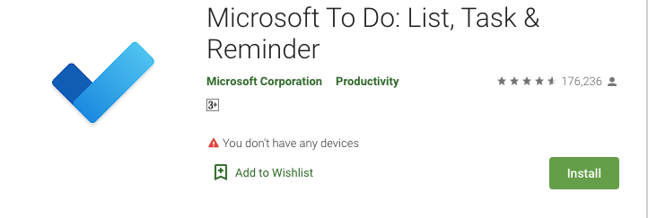 Microsoft To-Do - A Collective To-Do list and Note-Taking App
