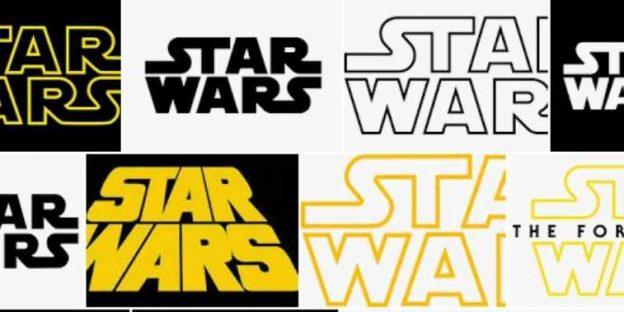 The Evolution of Star Wars Logo