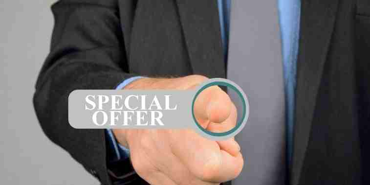 Special Offer for Fans
