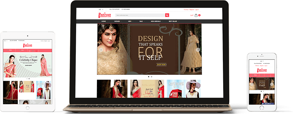 Parivar Ceremony Responsive Website