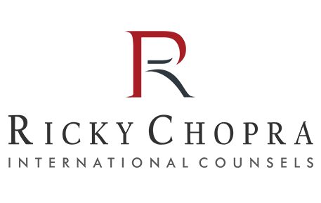 Ricky Chopra International Counsels Logo