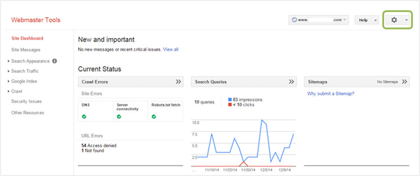 What is Google Webmaster tool