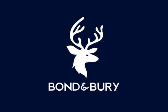 Bond & Bury Logo Design