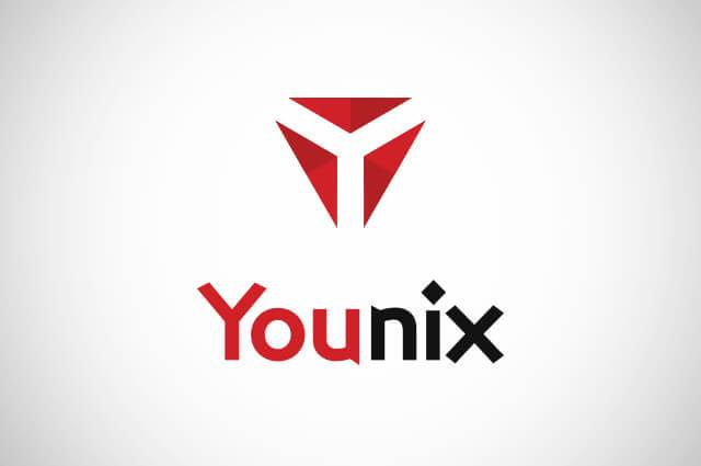 Younix Logo Design