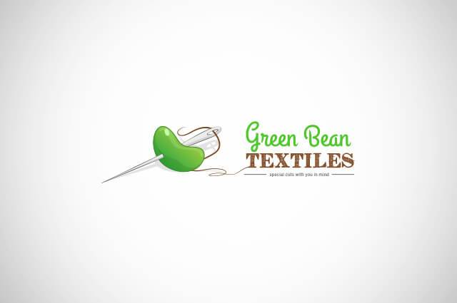 Green Bean texttiles Logo Design