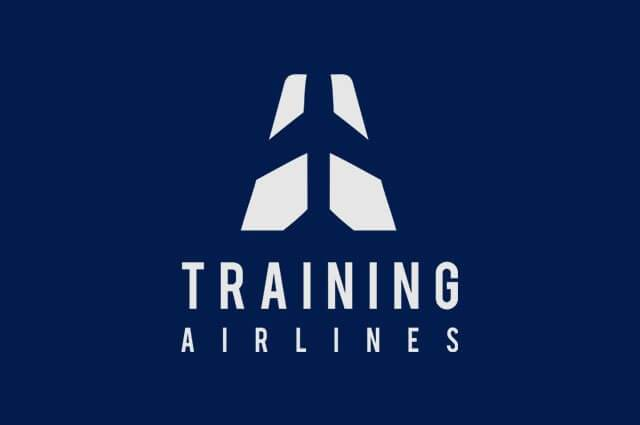 Traning Airlines Logo Design