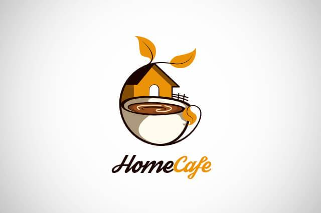Home Cafe Logo Design