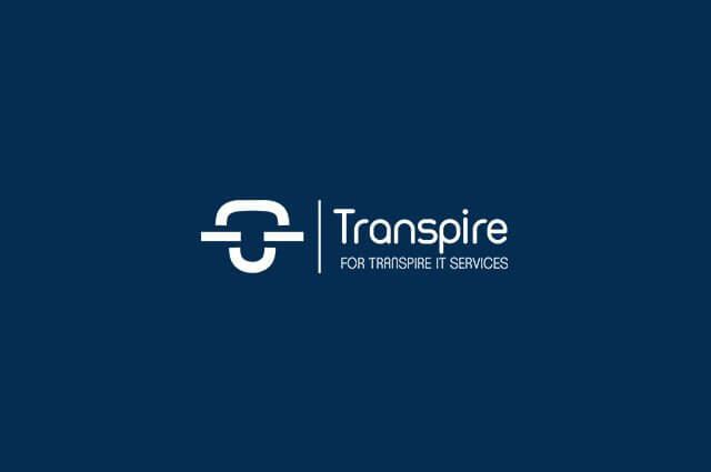 Transpire Logo Design