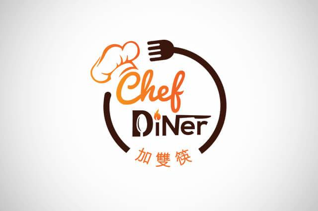 Chef Diner Logo Design