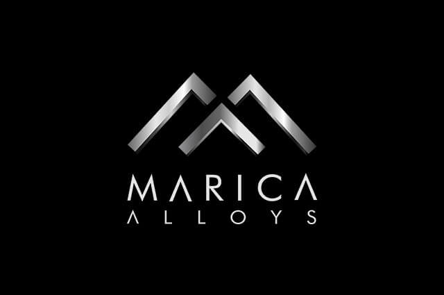 Marica Alloys Logo Design