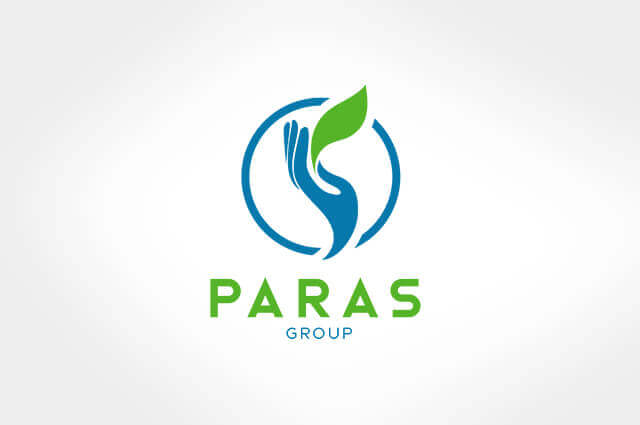 Paras group Logo Design