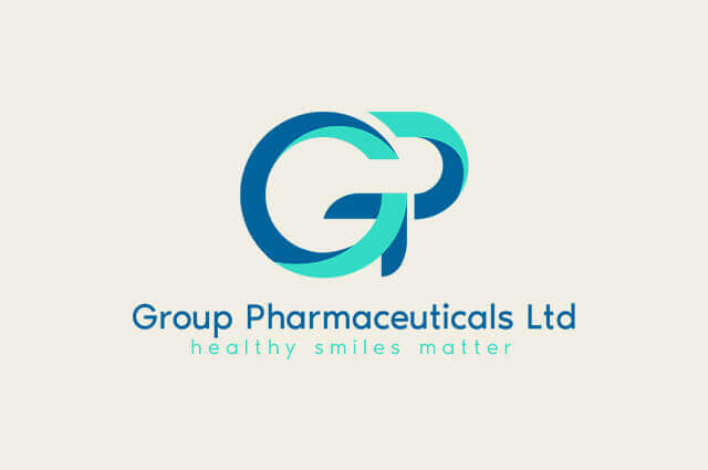 Group Pharmaceuticals Logo Design