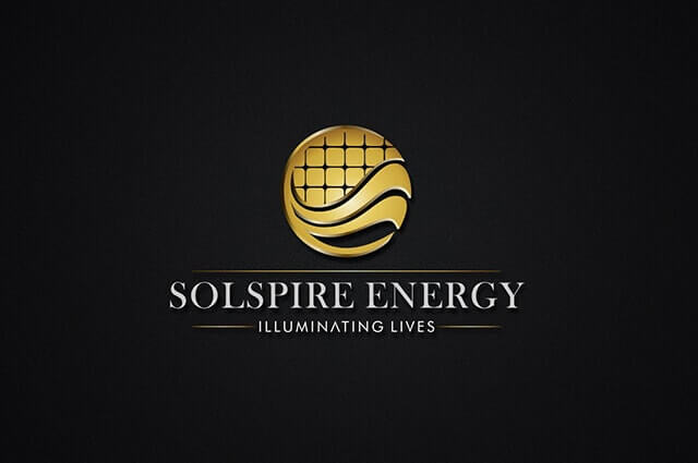 Solspire Energy Logo Design
