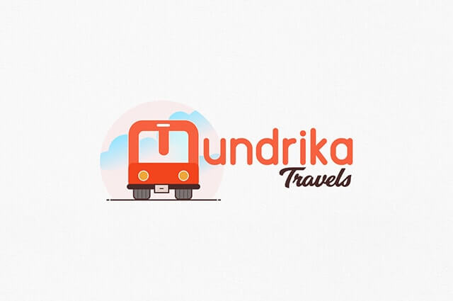 Mudrika Travels Logo Design