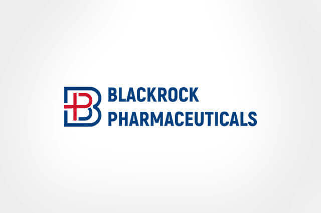 Blackrock Pharmaceuticals Logo Design