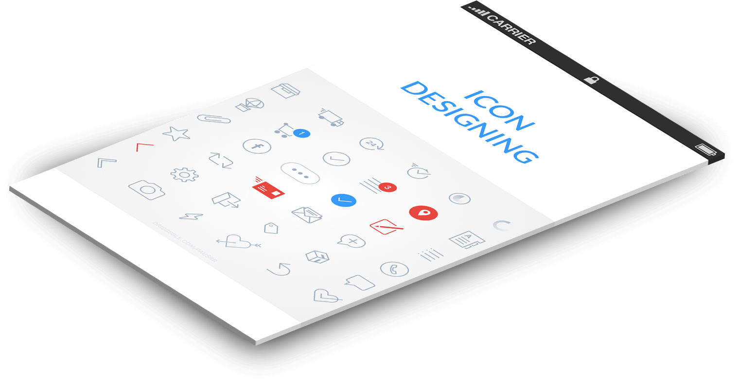 Icons Designing Services