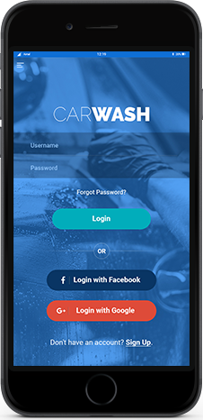 car wash App services